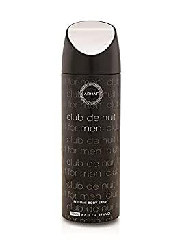Armaf Club De Nuit Deodorant Body Spray For Men 200 ML Deodorants & Antiperspirants at amazon