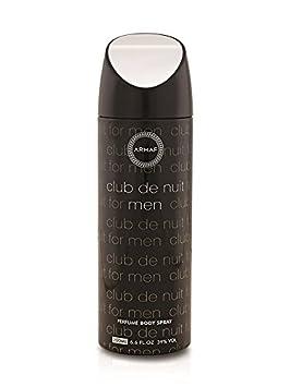 Armaf Club De Nuit Deodorant Body Spray For Men 200 ML Deodorants & Antiperspirants at amazon