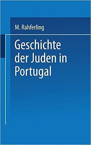 Book Geschichte der Juden in Portugal (German Edition)