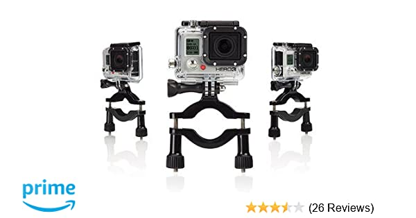 Gopro Roll Bar Mount >> Amazon Com Progear Large Motorbike Atv Roll Bar Mount With 3 Way