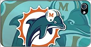 Miami Dolphins iPhone 4-4S Case v4 3102mss
