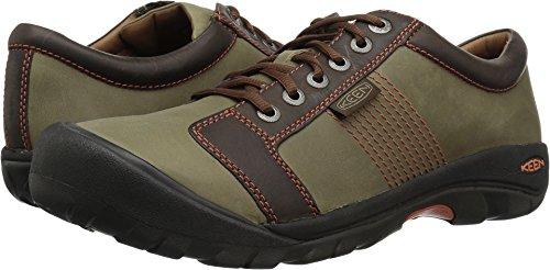 KEEN Men's Austin Sneaker,Army/Earth,10.5 D US