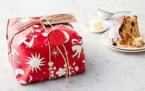 Rustichella d'Abruzzo Amarena Cherry Panettone Italian Christmas Cake Bread Imported from Italy 750g (Christmas Panettone Cake Italian)