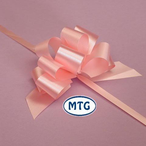 """4 opinioni per 20 x 50 mm (2 """") Rapid fiocco di raso- LUCE rosa pallido per le decorazioni del"""