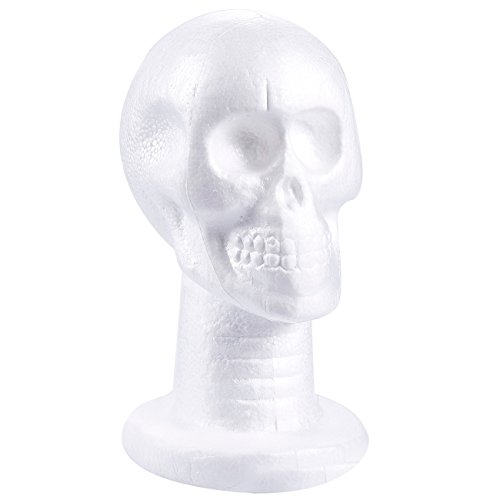 Craft Foam Skull - Polystyrene Foam Skull Model