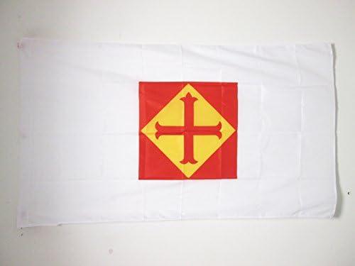 AZ FLAG Bandera de la CONFEDERACIÓN ESPAÑOLA DE DERECHAS AUTÓNOMAS 150x90cm para Palo - Bandera DE LA CEDA 90 x 150 cm: Amazon.es: Jardín