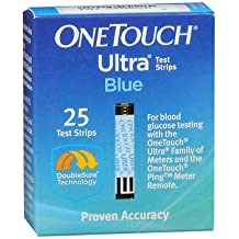 OneTouch Ultra Blue Test Strips - 25 ct, Pack of 2