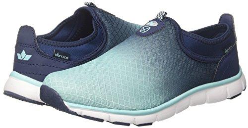 marine In Geka Donna tuerkis Infilare tuerkis Blu Marine Slip Sneaker Multi xwErqWw40