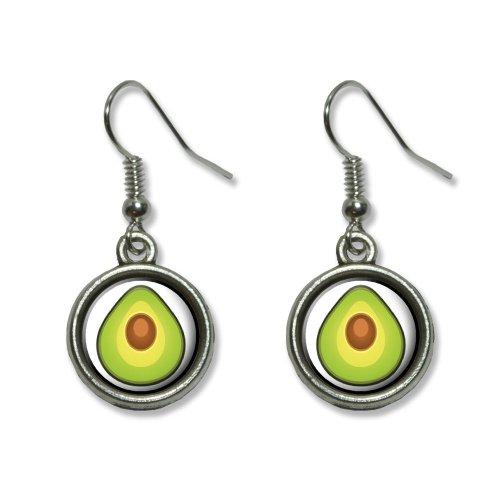 Avocado Novelty Dangling Dangle Earrings