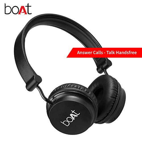 e7eac10af54 Reviews Summary + Pros/Cons - Boat Rockerz 400 On Ear Bluetooth Headphones  Carbon Black