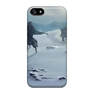For Case Cover For Ipod Touch 5 Premium PC Game Of Thrones Nights Watch Patrol Protective Case