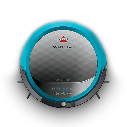 Bissell SmartClean Robot Vacuum, 1974, Gray Ad Blue ()