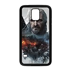 The Witcher caza salvaje VL22WF7 funda Samsung Galaxy S5 teléfono celular caso funda O6OS2J5LH