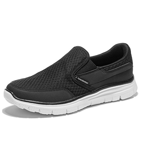 NewDenBer NDB Sport Men's Casual Lightweight Slip-on Sneaker (12 D(M) US, ()