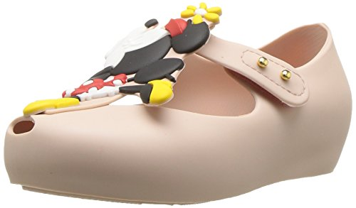 Mini Melissa Girls' Mini Ultragirl + Disney Mary Jane Flat Sand 12 Regular US Little Kid