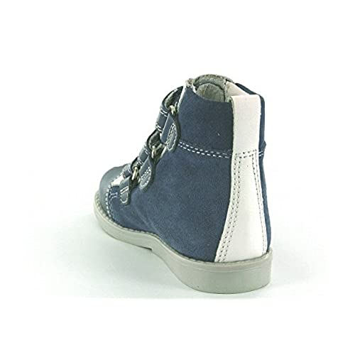 Ankle and Orthopedic Support Toddler//Little Kid Bartus Boys High Top Ankle Leather Shoes with Arch
