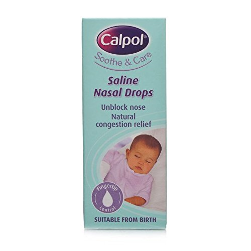 Calpol Soothe & Care Saline Nasal Drops 10ml