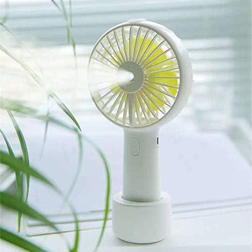 Mini ventilador portátil con pulverizador de agua Mist Fan ...