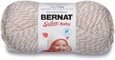 Bulk Buy 3-Pack Little Mouse 166030-30011 Bernat Softee Baby Yarn Solids