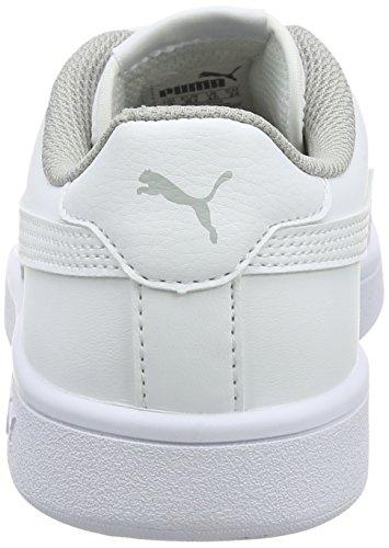 blanc Wei Casser blanc Chaussure Mixte L Puma 2 Jr kinder V2 x8R0qCw