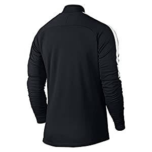 Nike Men's Dry Academy Drill Soccer Top 1/4 Zip Jacket (X-Large) Black