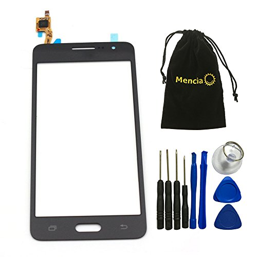 Mencia Touch Digitizer Glass Lens Screen Replacement For Samsung Galaxy Grand Prime G530 G530F G5308 With Openning Tools(Black)