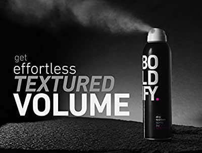 BOLDIFY Dry Texturizing Spray for Hair Volume - Incredible Dry Shampoo Alternative for Hair Volumizing - Stylist Recommended Hair Volumizing Spray for Women and Men - 7 Ounce