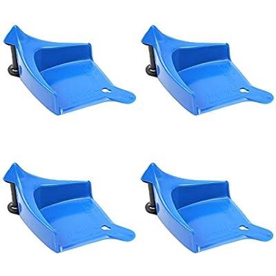 DETAIL GUARDZ Car Hose Guides (4 Pack Blue): Automotive