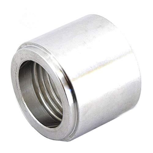 3/8 NPT Weld On Bung Female Nut Aluminum Threaded Insert Weldable Pipe Fitting Adapter 617-6703AL Aluminum Adapter Weld Fitting