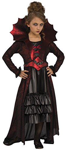 Victorian Age Halloween Costumes (Rubies Costume Child's Victorian Vampire Costume, Medium, Multicolor)