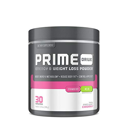- Complete Nutrition Prime Drive Energy & Weight Loss Powder, Strawberry Melon, Increase Energy, Boost Metabolism, Fat Burner, Appetite Suppressant, 9.5oz (30 Servings)