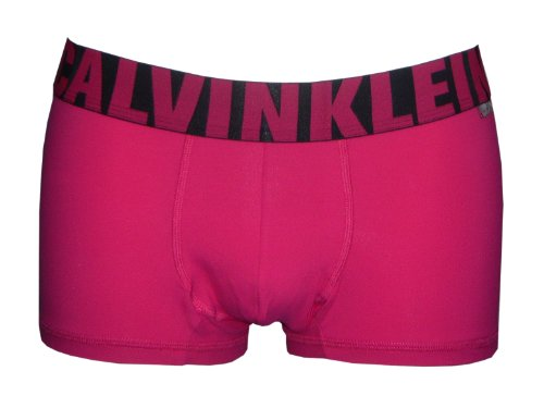 Calvin Klein X Micro Low Rise Trunk (Large (36-38 inches), Forbidden Fruit)