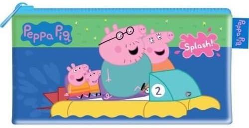 New Anker Pencil Case Kids School Stationery Peppa Pig Slim Barrel