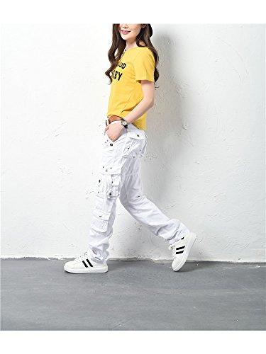 White Cargo Pantaloni Ochenta 04 Basic Donna XgAa40n