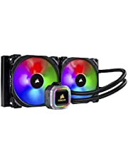 CORSAIR CW-9060038-WW Liquid CPU Cooler, Black, 280mm