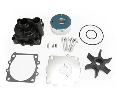 Full Power Plus Yamaha Water Pump Repair Kit Replacement 150 175 200 225 250 300HP with Housing Sierra 18-3396 61A-W0078-A2-00 61A-W0078-A3-00 ()