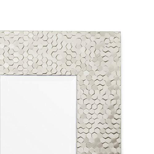 6d7cae6d8e3d Wall Beveled Mirror Framed - Bedroom or Bathroom Rectangular Frame Hangs  Horizontal   Vertical by EcoHome