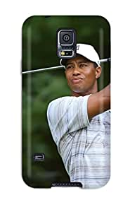 Awesome Design Tiger Woods Hard Case Cover For Galaxy S5