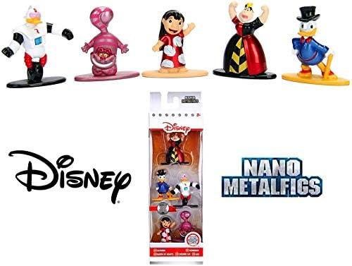 Jada- Nano MetalsFig Pack 5 Figuras Disney, Multicolor (JADA84423): Amazon.es: Juguetes y juegos