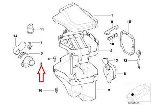 Amazon Com Bmw Oem Blower Motor For Control Unit Housing E Box Fan