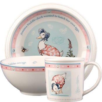 Wedgwood Beatrix Potter Jemima Puddle Duck 3 Piece Dinnerware Set  sc 1 st  Amazon.com & Amazon.com | Wedgwood Beatrix Potter Jemima Puddle Duck 3 Piece ...