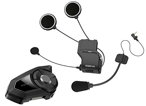 Sena 30K Motorcycle Bluetooth communication system with Mesh Technology (Single) by Sena
