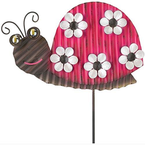Regal Whimsy Garden Stake in Ladybug ()