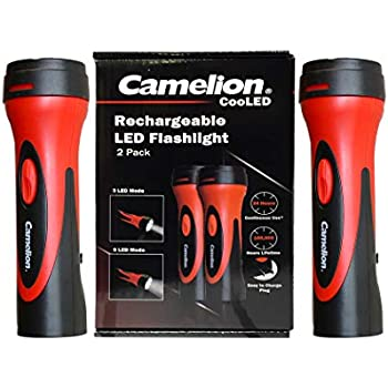 7 Led Rechargeable Wall Socket Charge L E D Flashlight