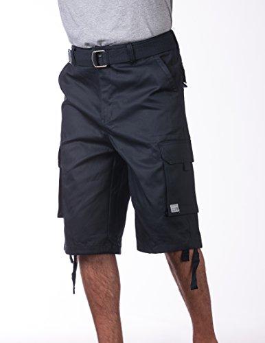 Mens cargo shorts size 36 blue