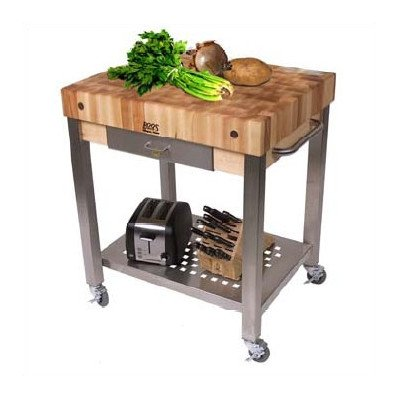 butcher block kitchen counter - 4
