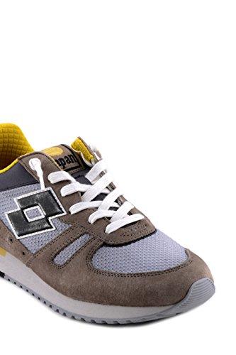 Lotto Leggenda S8843 Zapatillas De Deporte Hombre Gamuza/tejido Gris