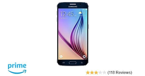 Amazon com: Samsung Galaxy S6, G920P Black Sapphire 32GB - Sprint
