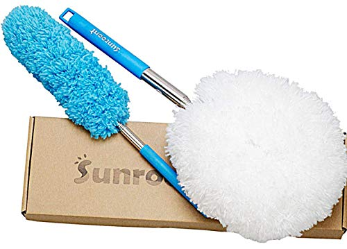 Sunroom Microfiber Webster Spider Dusters Cleaner Telescoping 2PCS