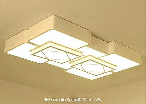 Plafoniere Rettangolari Per Esterno : Tianliang04 moderna luce del soffitto mini lampade da